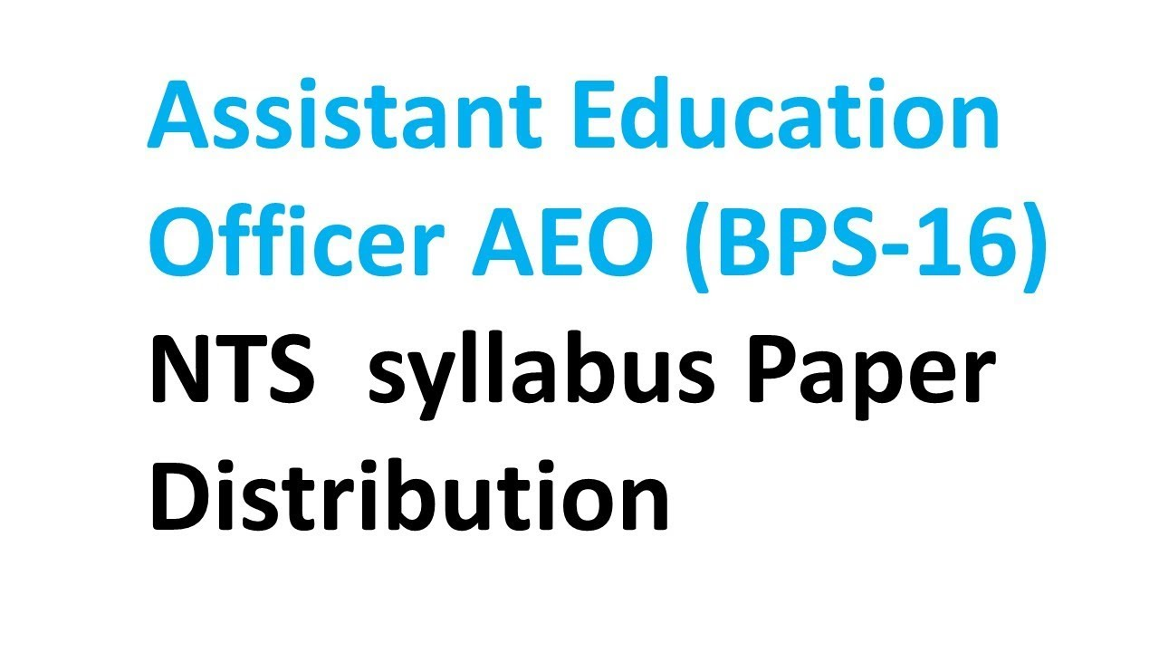 NTS Past Papers For Educators 2019 – Paperpks