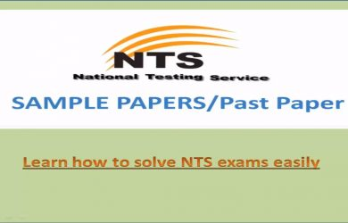 Punjab Educators Science Arts Jobs 2019 NTS Test Preparation