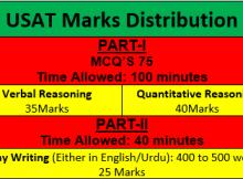 USAT Marks Distribution